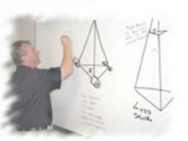 classroom training center of gravity stability triangle forklift lifttruck training and safety awareness