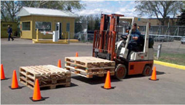 forklift operator training lifting pallet moving skids forklift lift truckstacking a load safety awareness training and certification