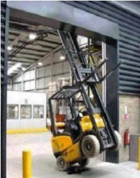 Lifting And Moving A Load Operating Forklift Safely